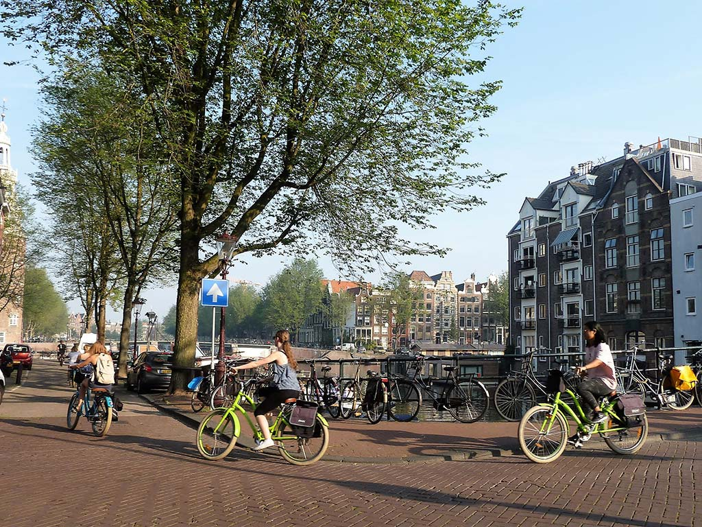 Amsterdam - The City of Bicycles