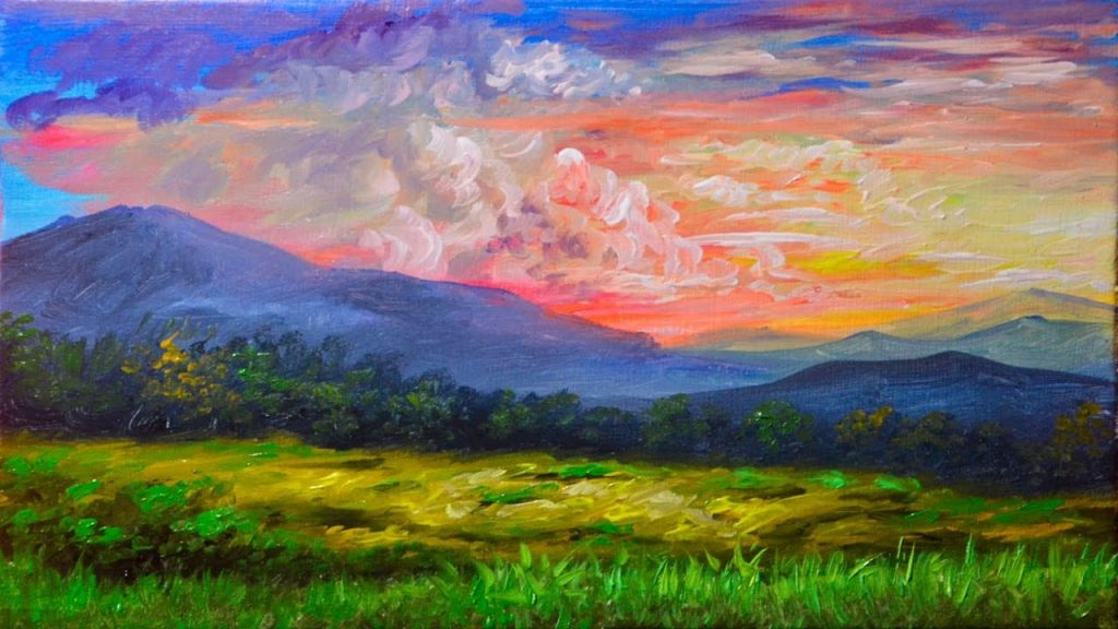 ips for Painting Landscapes With Acrylics