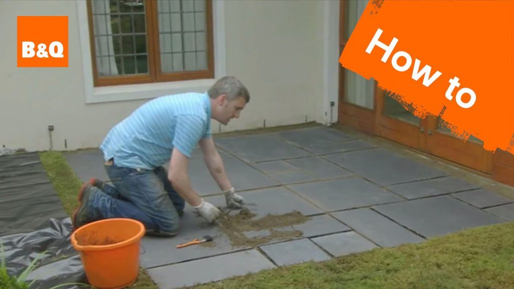 How to Lay Flagstones